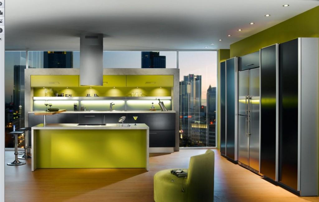 ห้องครัวสีเขียว-5